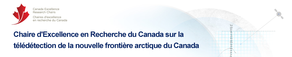CERC - Canada Research Chair in Remote Sensing of Canada's New Arctic Frontier